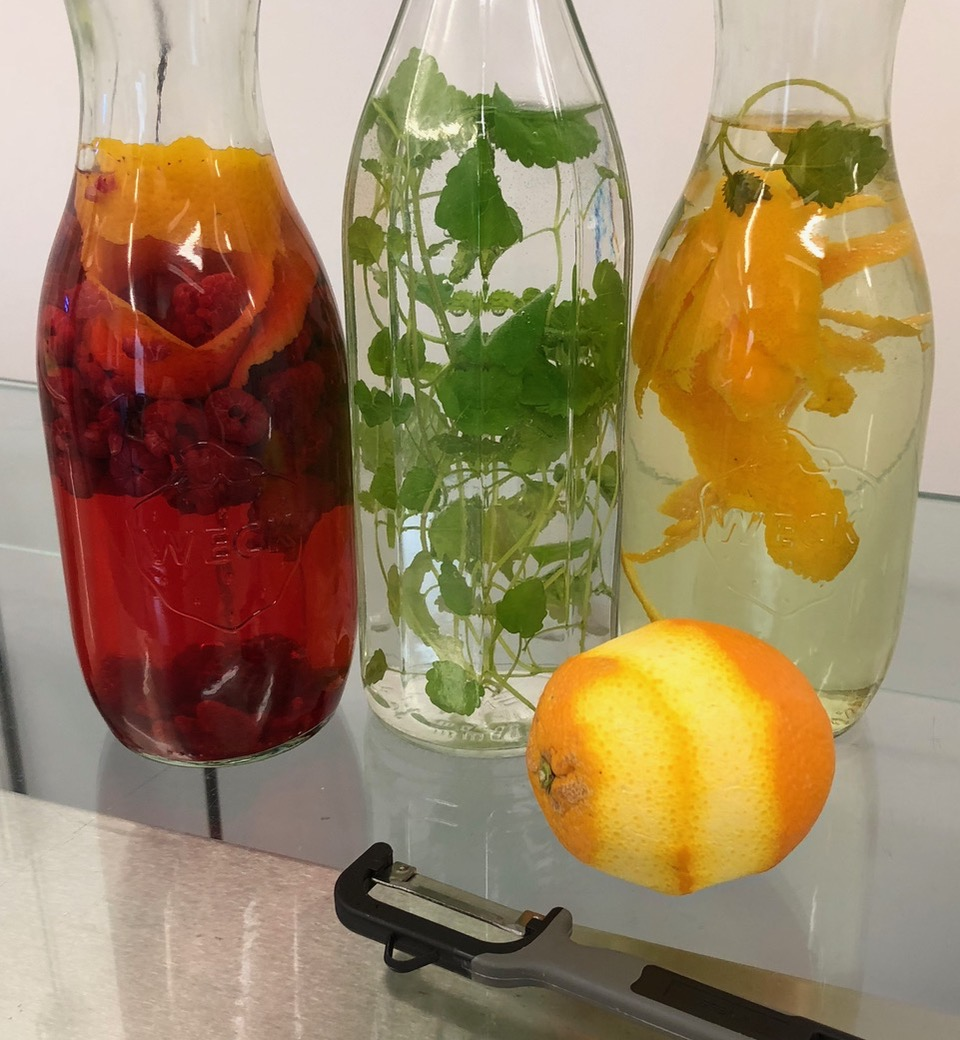 Infused Water Aroma Wasser